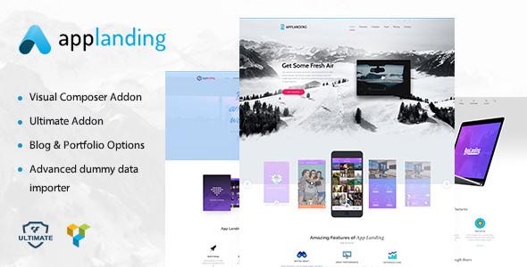 App Promotion v1.3 — One Page App Promotion Theme
