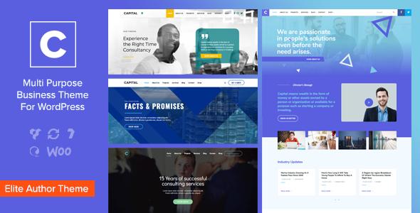 Capital v1.7.1 — Multi Purpose Business WordPress Theme