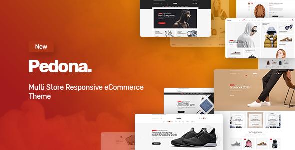 Pedona v1.0.3 — Fashion & Sport Theme for WooCommerce