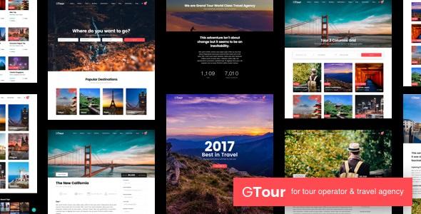 Grand Tour v4.1 — Tour Travel WordPress Theme