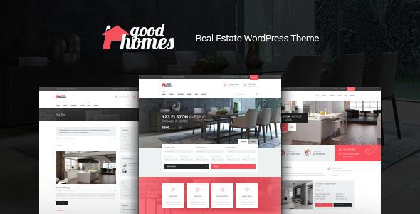 Good Homes v1.3.2 — A Contemporary Real Estate Theme
