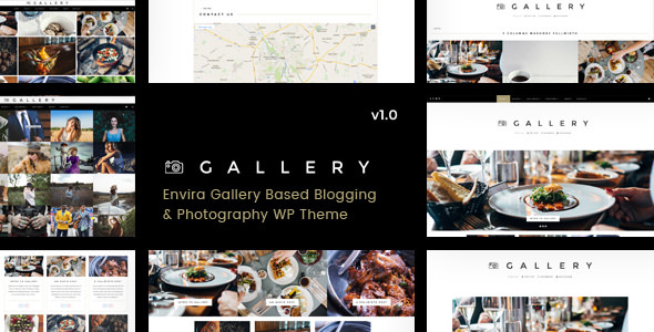 Gallery v1.0.5 — Blogging & Envira Gallery WordPress Theme