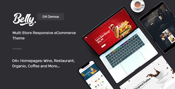 Belly v1.0.3 — Multipurpose Theme for WooCommerce