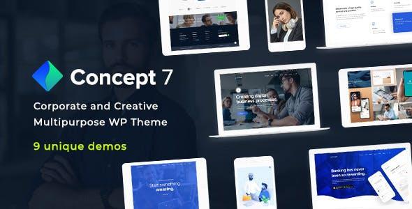 Concept Seven v1.1 — Responsive Multipurpose Theme