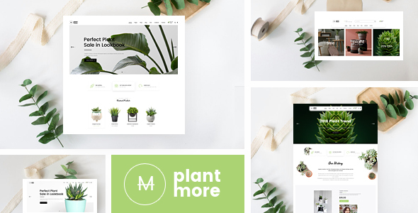 Plantmore v1.1.3 — Responsive Theme for WooCommerce