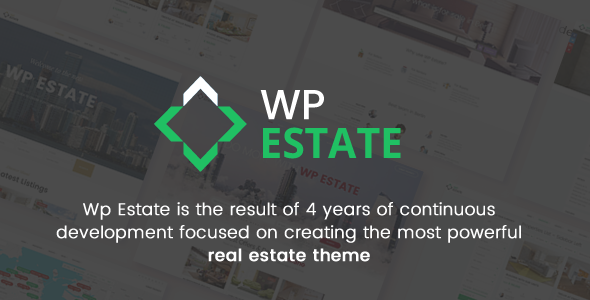 Real Estate v5.2.1 — WP Estate Theme