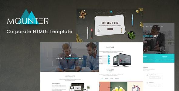 Mounter — Corporate HTML Template