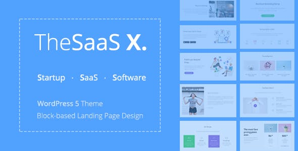 TheSaaS X v1.1.1 — Responsive SaaS, Startup & Business