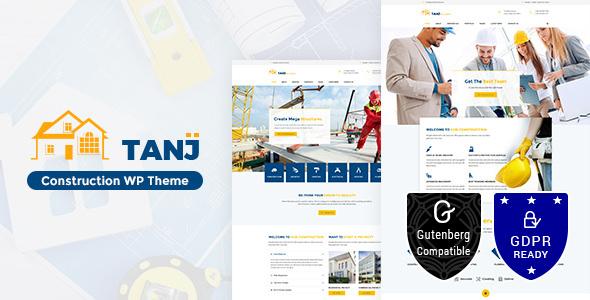 Tanj Construction v1.5 — Architecture, Construction Theme