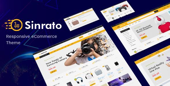 Sinrato v1.0.1 — Electronics Theme for WooCommerce