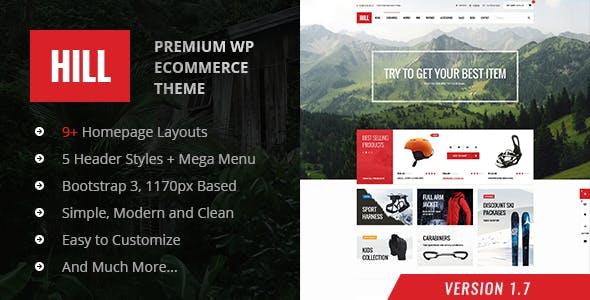 HILL v1.8 — Premium Responsive WooCommerce Theme