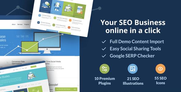 SEO WP v1.9.12 — Online Marketing, SEO, Social Media Agency