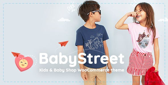 BabyStreet v1.2.1 — WooCommerce Theme for Kids Stores and Baby Shops Clothes and Toys