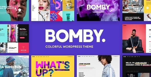 Bomby v1.4 — Creative Multi-Purpose WordPress Theme