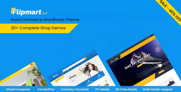 Flipmart v2.5 — Responsive Ecommerce WordPress