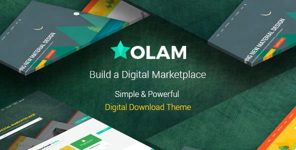 Olam v4.4.6 — WordPress Easy Digital Downloads Theme