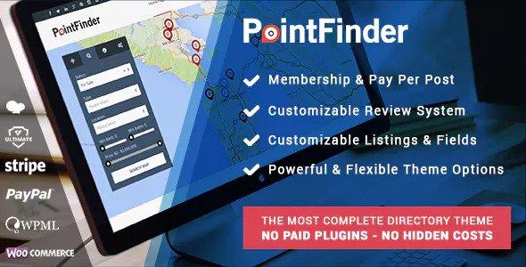 Point Finder v1.9.5 — Versatile Directory and Real Estate