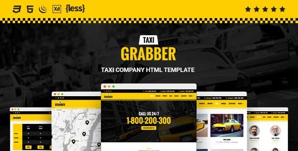 Taxi Grabber — HTML Template