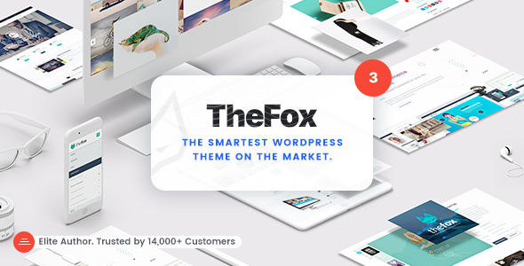 TheFox v3.8.0 — Responsive Multi-Purpose WordPress Theme
