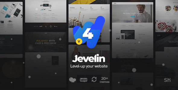 Jevelin v4.3.2 — Multi-Purpose Premium Responsive Theme