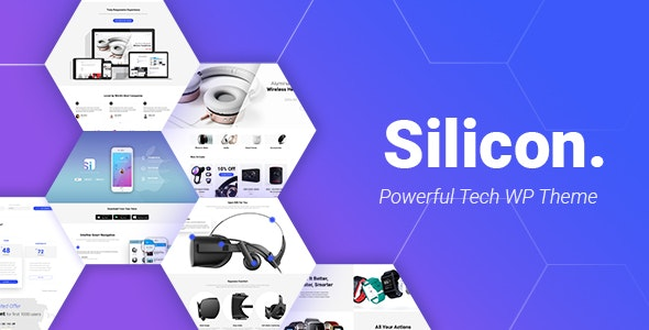 Silicon v1.4.5 — Startup and Technology WordPress Theme