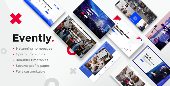 Evently v1.6 — Event & Conference Theme
