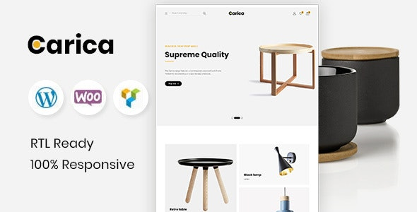 Carica v1.2 — Furniture Handmade WooCommerce Theme