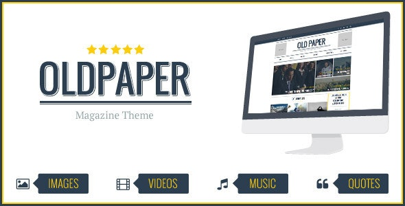 OldPaper v1.6.0 — Ultimate Magazine and Blog Theme