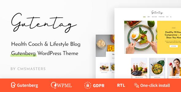 GutenTag v1.0.0 — 100% Gutenberg Blog WordPress Theme