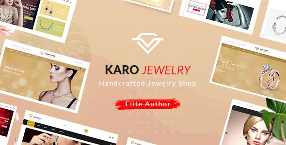 Karo v1.1.8 — Handcrafted Jewelry WooCommerce WordPress Theme