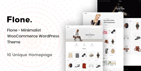 Flone v1.0.1 – Minimal WooCommerce WordPress Theme