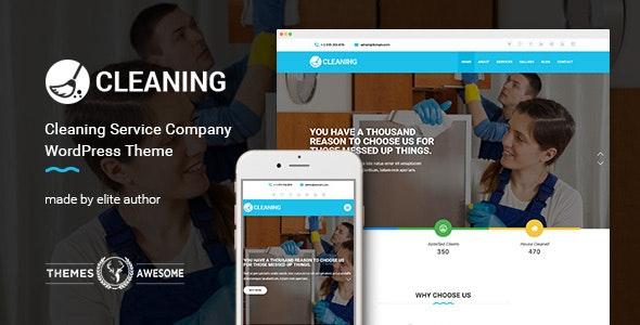 Cleaning Service Company v1.4 — WordPress Theme