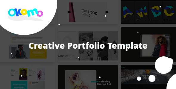 Okomo — Creative Portfolio Template