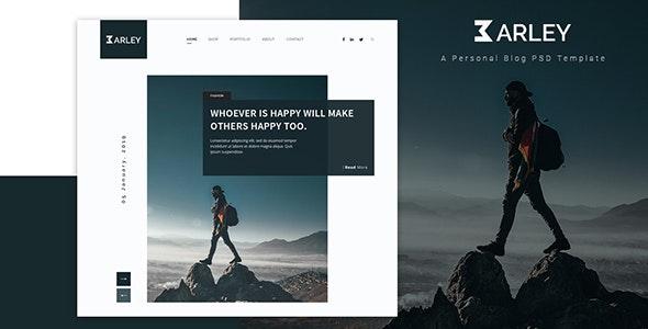 Barley v1.0 — Creative Personal WordPress Blog Theme