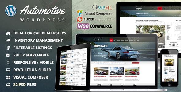 Automotive v11.1 — Car Dealership Business WordPress Theme