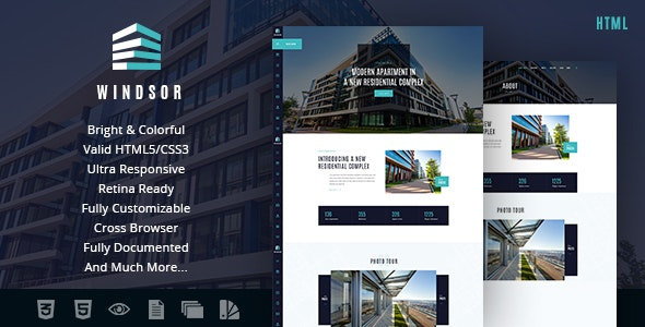 Windsor v1.0 — Apartment Complex / Single Property Site Template