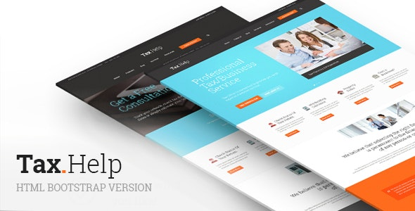 TaxHelp v1.0 — Finance & Accounting Site Template