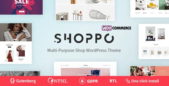 Shoppo v1.0.1 — Multipurpose WooCommerce Shop Theme