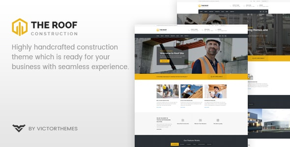 Roof v2.1 — WP Construction, Building Business