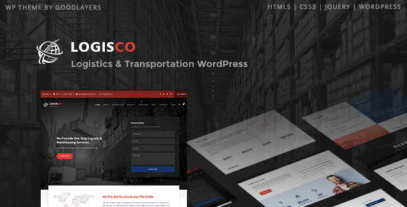 Logisco v1.0.1 — Logistics & Transportation WordPress