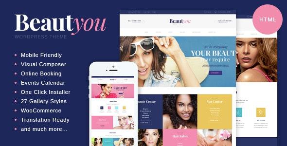 Beautyou v1.0 — Beauty, Hair & Spa Salon HTML Template