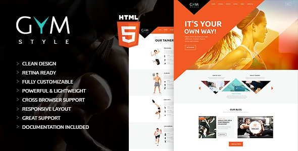 GYM v1.0.0 — Sport & Fitness Club HTML Theme