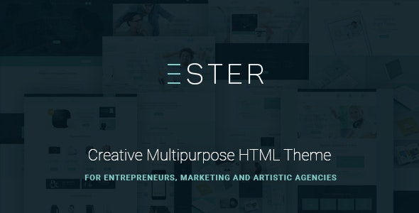 Ester v1.0.0 — Multipurpose Site Template