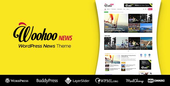 Woohoo v2.3.1 — WordPress news and magazine multi-concept website theme