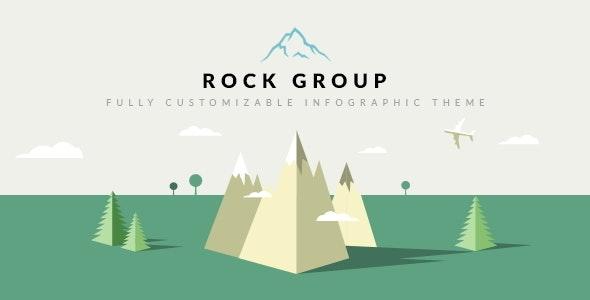 Rock Group v1.5 — Multipurpose Infographic Theme