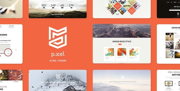 Pixel v1.0 — Multipurpose Site Template