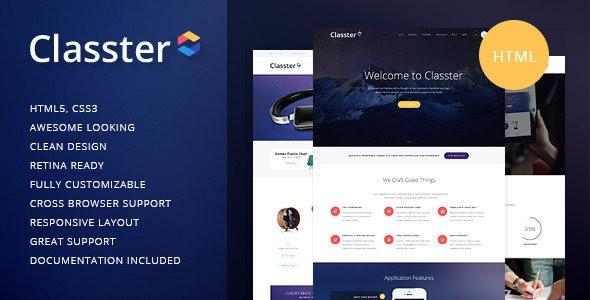 Classter v1.1 — Multi-Purpose HTML Theme