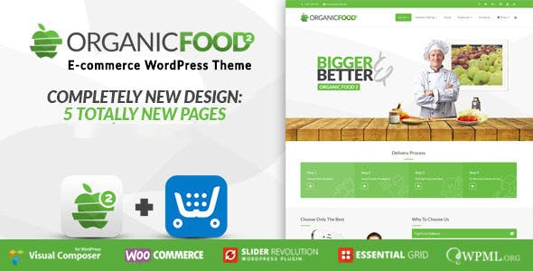 Organic Food v1.2.1 — Farm & Food Business Eco WordPress Theme