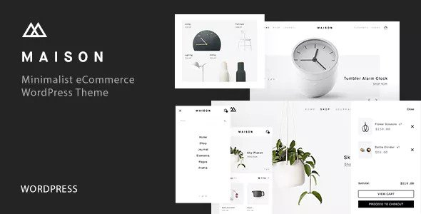 Maison v1.10 — Minimalist eCommerce WordPress Theme