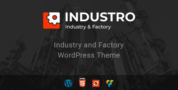 Industro v1.0.6.1 — Industry & Factory WordPress Theme
